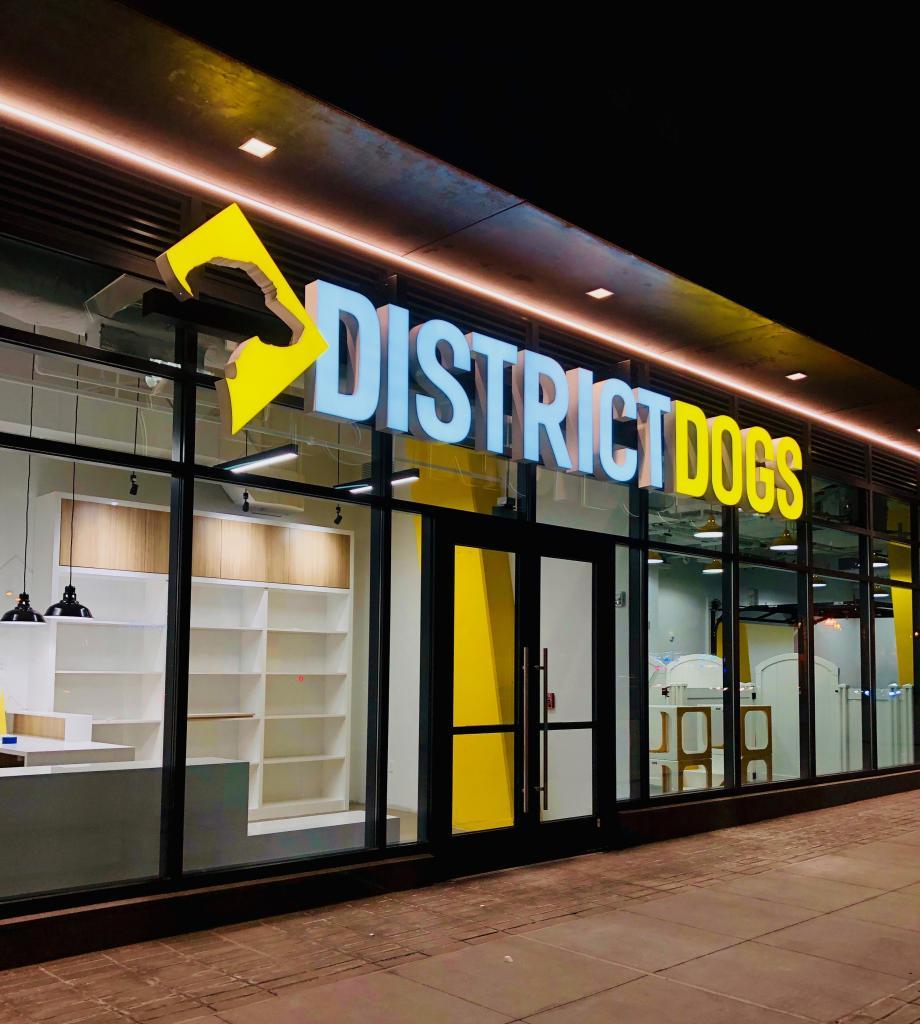 District Dogs Navy Yard Outside