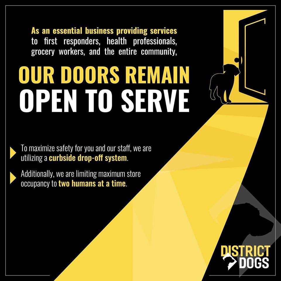 Open Doors - Coronavirus